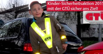 Die Erstklässler sind unterwegs – GTÜ-Sicherheitspaket für eure Kleinen