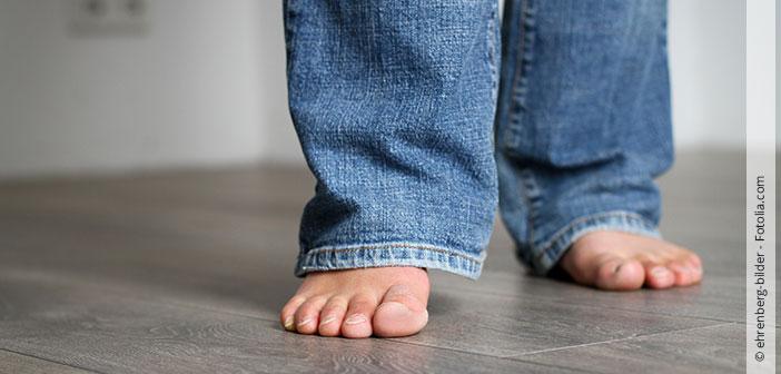 Wohlig warme Füße