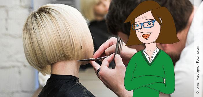 Beim Friseur: Der Fluch der Kurzhaarfrisur