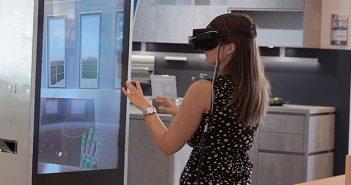 Die Virtual Reality Küche von Meda Küchen