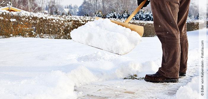 Streu- und Räumpflicht im Winter