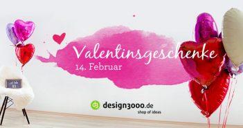 Individuelle Valentinstagsgeschenke für dich und deine Lieben