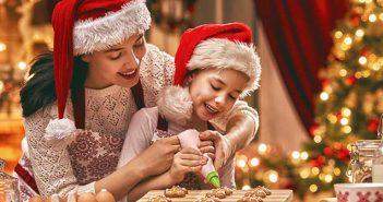 In der Weihnachtsbäckerei – backen mit Kindern