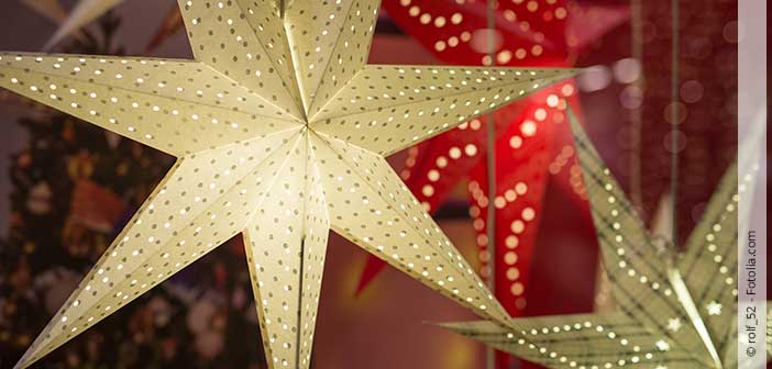 Upcycling-Ideen rund um den Weihnachtsstern