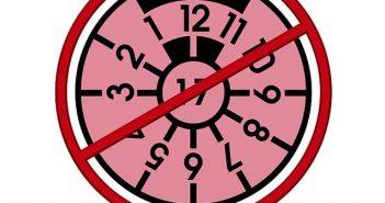 Header rosa Prüfplakette ungültig