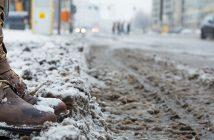 Header Schuhpflege im Winter