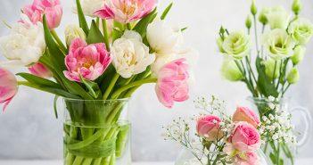 Header So halten Blumensträuße länger