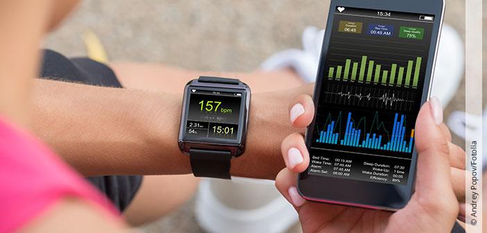 Selbstoptimierung mit Smartwatch, Fitnessband & Co.