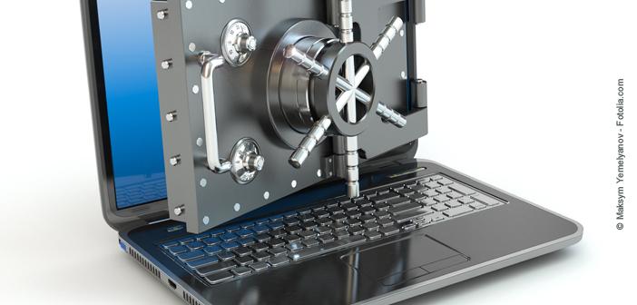 schutz vor notebook-diebstahl