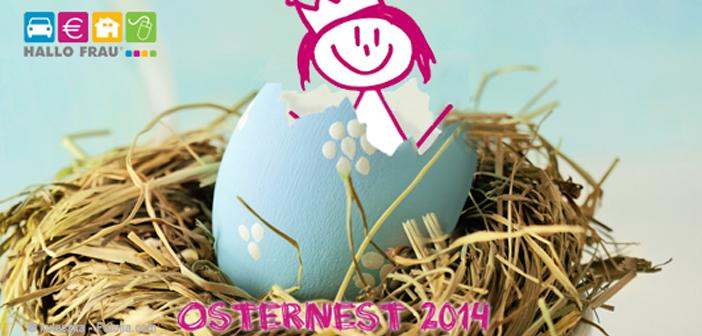 Hallo Frau Osternest 2014