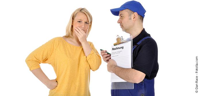 Vorsicht bei Anfahrtskosten für Handwerker