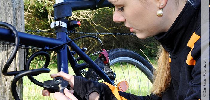 Fahrrad abaschliessen