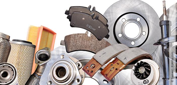 Sicherheitsrelevante Ersatzteile bei einem Auto