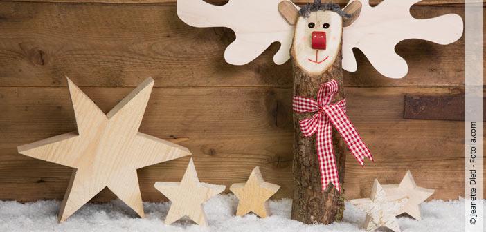 Sterne aus Holz – Eine schnelle Dekoidee für den Winter