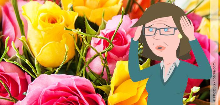 Blumen welken Inges Dinge