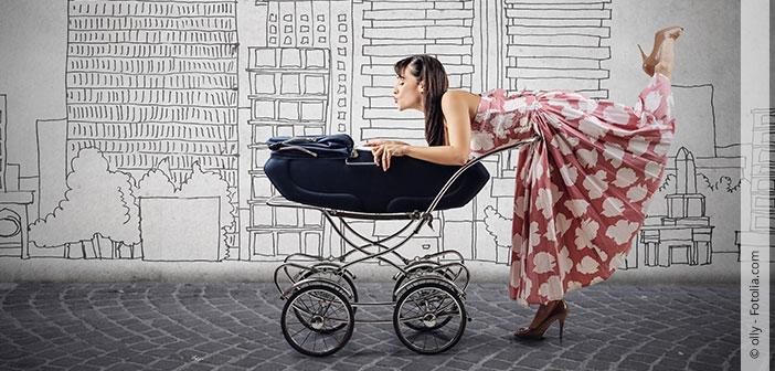 Shoppen mit Kind
