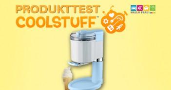 Produkttest Softeismaschine Coolstuff.de
