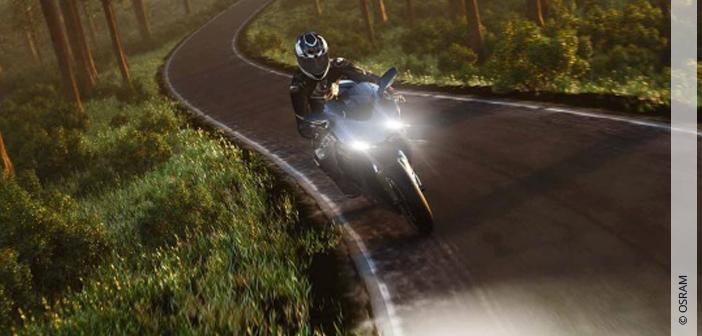 Bestens beleuchtet in die Motorradsaison starten