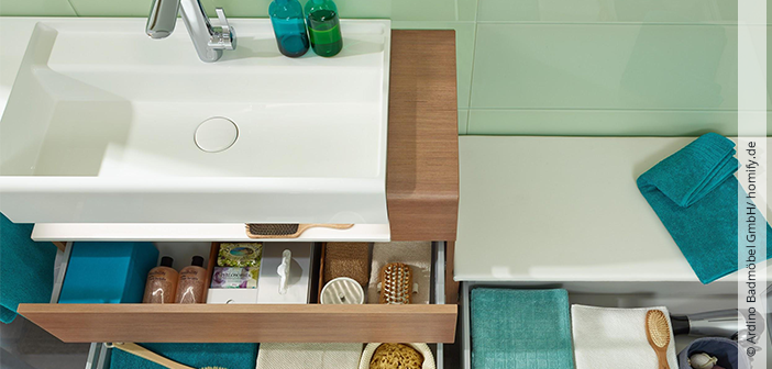 5 tipps f r mehr ordnung im bad hallo frau. Black Bedroom Furniture Sets. Home Design Ideas