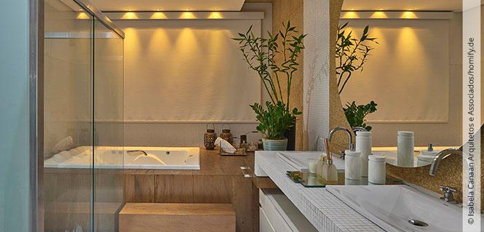 Badezimmer dekorieren mit accessoires akzente setzen for Badezimmer wand dekorieren