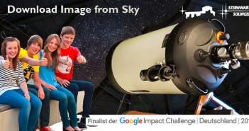 Sternwarte Solingen - Finalist der Google Impact Challenge Deutschland 2016