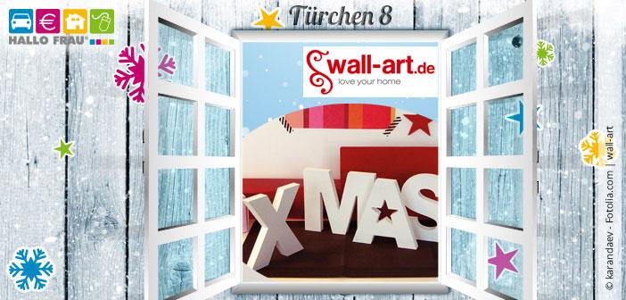 Header Adventskalender Türchen 8 Wallart