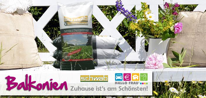 Sommergewinnspiel Balkonien Schwab Rollrasen