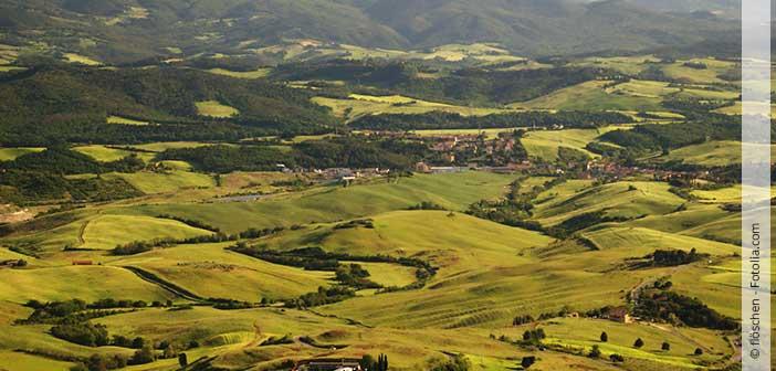 Header Toskana Urlaub Landschaft