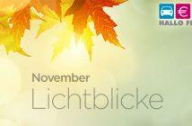 Header November Lichtblicke heiße Getränke