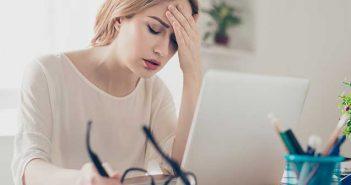 Header Stress auf der Arbeit