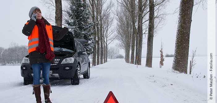 Header Autopanne im Winter