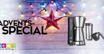 Advents-Special MEDA Kaffeemaschine