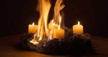 Tipps für den Brandschutz zur Weihnachtszeit