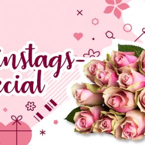 Valentinstag Blumen Gewinnspiel