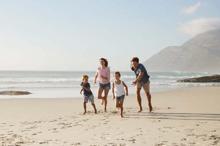 10 Urlaubsziele mit Kindern