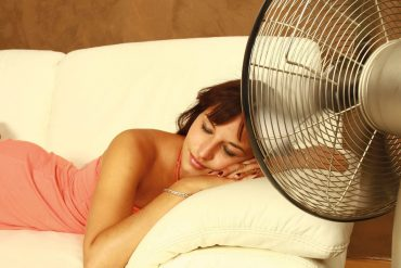 Bei der Hitze gut schlafen