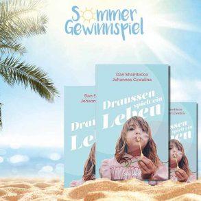 Sommer-Gewinnspiel   07.08.2019   Buch: Draußen spielt das Leben