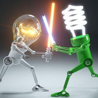 LED-Leuchten: grün und stylisch
