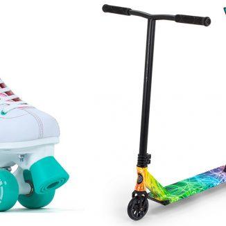 Es wird wieder gerollt – mit Scootern und auf Rollschuhen