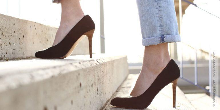 High Heels tragen ohne Schmerzen: so geht's!