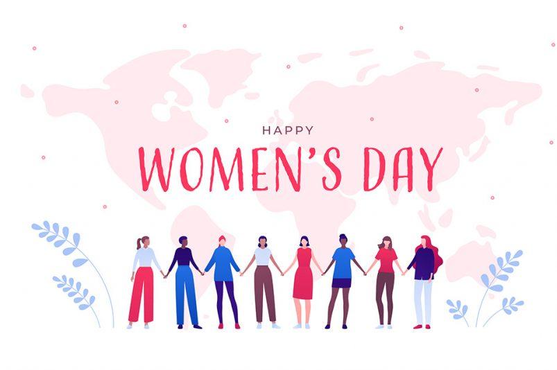 der internationale Tag der Frauen