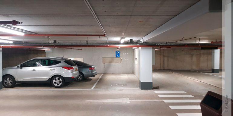 Garage an einem Flughafen