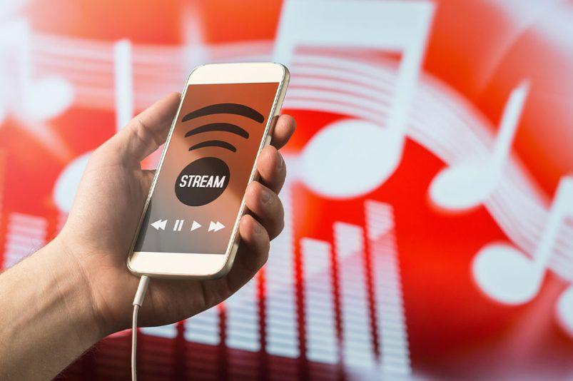 Musik Streaming heutzutage