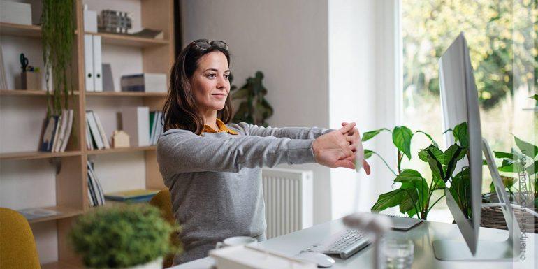 Home Office - 10 Tipps für entspanntes Arbeiten zuhause