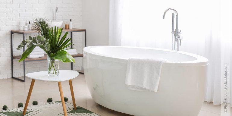 Verbindung der Gegensätze: Badezimmer schön und funktional gestalten