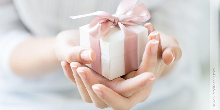 Wunderschöne Geschenke für die Frau